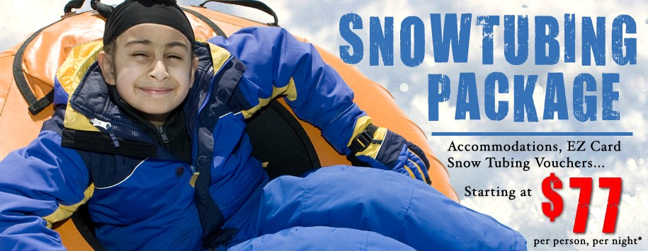 Snow Tubing Ad Banner